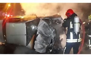 آتش سوزی در بخش دیالیز بیمارستان رازی اهواز