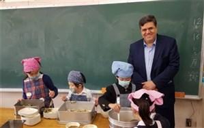 بازدید رئیس دانشگاه فرهنگیان از مدارس وابسته به دانشگاه آیچی
