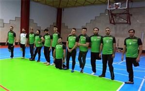 برگزاری مسابقه دوستانه والیبال نشسته جانبازان و معلولان بین عراق و تیم پاکدشت