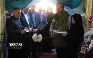 افتتاح نمایشگاه تولیدات و صنایع دستی سوادآموزان و آموزش دهندگان در بجنورد