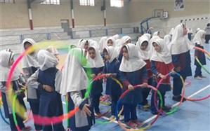 جشنواره بازیهای بوی محلی دانش آموزان مدارس ابتدایی زارچ