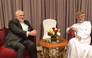 وزیران خارجه ایران و عمان دیدار و گفتگو کردند