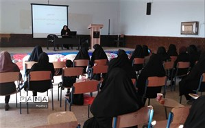 برگزاری کارگاه آموزشی درس تفکر و سبک زندگی در ناحیه 2 اهواز