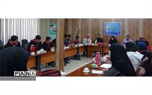 برگزاری انتخابات مجامع شورای دانش آموزی درفاروج