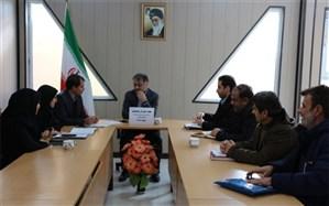 جلسه شورای پشتیبانی سوادآموزی شهرستان خوانسار برگزار شد