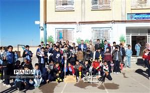 برگزاری دومین دوره مسابقات پرتاب موشک های آبی در  زبرخان