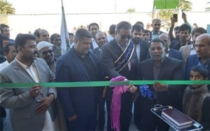 افتتاح مدرسه 6 کلاسه مهربانک کشاورزی روستای چاه اسحاق دلگان
