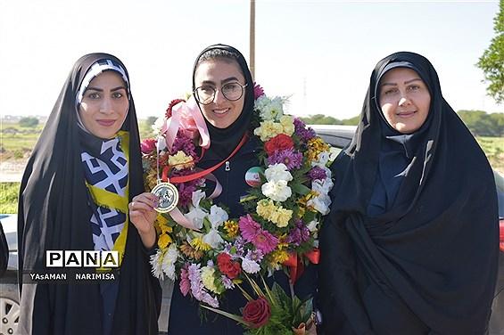 کسب مدال طلا آسیا در بازی های قهرمانی مویتای ابوظبی به دانش آموز امیدیهای