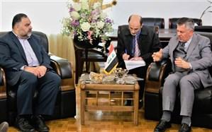 دیدار سرپرست مرکز پزشکی حج و زیارت با سفیر عراق در ایران