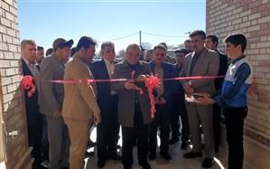 افتتاح مدرسه 3 کلاسه خیر ساز روستای آتشگاه شهرستان سرعین