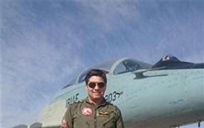 شهادت خلبان جنگنده میگ ۲۹ در سبلان