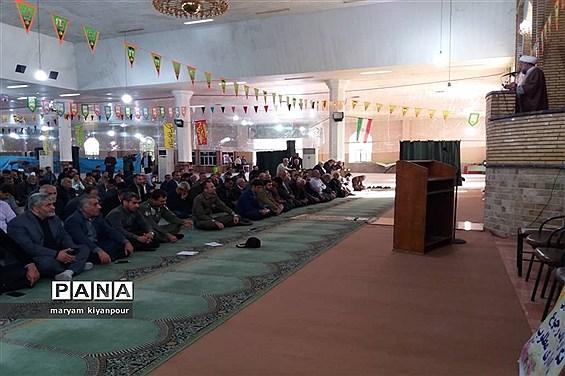 آیین گرامی داشت سالروز تشکیل نهضت سواد آموزی و هفته سواد آموزی در مسجدسلیمان
