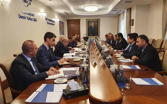 دیدار هیات ایرانی با مقامات کشور آذربایجان