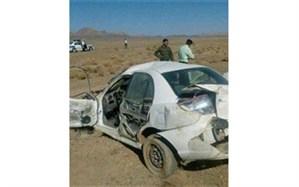 واژگونی خودرو در جاده بافق – بهاباد 2 مصدوم بر جای گذاشت
