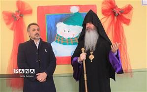 برگزاری مراسم جشن میلاد مسیح و آغاز سال نو میلادی در مدرسه ارامنه تبریز