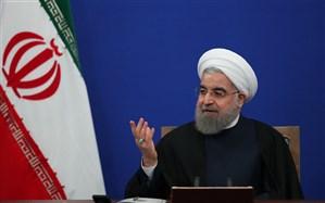 روحانی: دشمنان فکر می کردند برای شان فرش قرمز پهن می شود