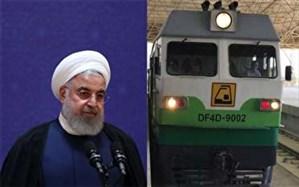 با حضور رئیس جمهوری ،قطار برقی کرج - هشتگرد افتتاح می شود