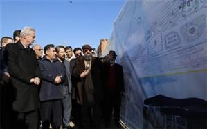 عملیات اجرایی احداث ایستگاه راهآهن خاوران آغاز شد