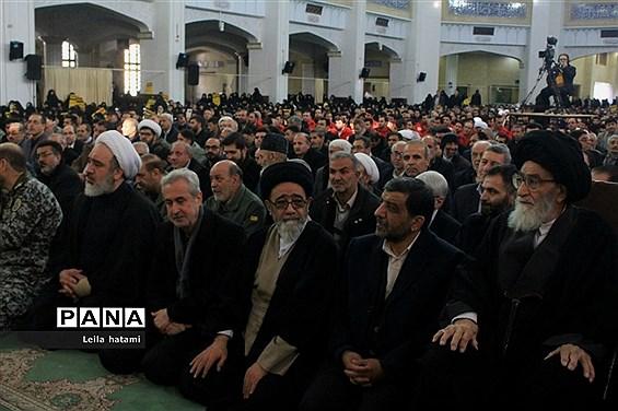 تجمع بزرگ مردم تبریز به مناسبت گرامیداشت حماسه ۹ دی