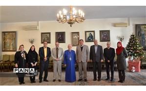 دیدار مدیرکل آموزش و پرورش شهر تهران با اسقف اعظم ارامنه تهران