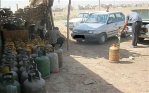 بمبهای متحرک عامل کمبود گاز مایع