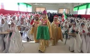جشن تکلیف 310 دانش آموز دختر چرامی، آغازی شیرین برای عبادت وبندگی