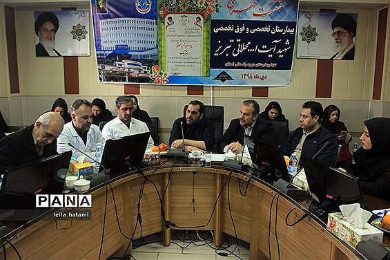 نشست خبری رئیس بیمارستان فوق تخصصی محلاتی با اصحاب رسانه در تبریز