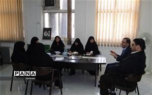 اولین جلسه کمیته عفاف و حجاب منطقه 12
