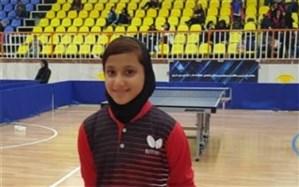 افتخارآفرینی دانش آموز بوشهری در مسابقات تنیس آسیای میانه