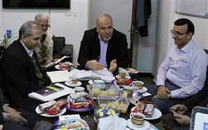 جلسه مشترک اداره امور تربیتی و اداره کل امور اداری و تشکیلات برگزار شد