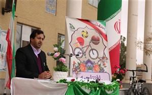 افتتاح مدرسه پویا و با نشاط محمودیه گناباد