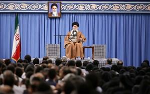 رهبر انقلاب: ما هرگز کشور را به سمت جنگ نمی بریم اما اگر دیگران بخواهند با قدرت تمام مقابل آنها می ایستیم
