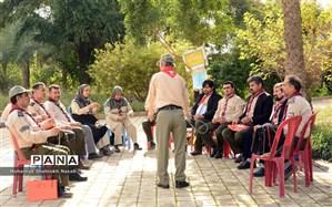 برگزاری اردوی 2 روزه آموزشی مهارتی مسئولین سازمان دانش آموزی خوزستان در رامهرمز