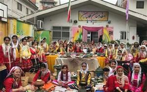 جشنواره غذاهای محلی ، زبان و سرودهای محلی به مناسبت روز رشت برگزار شد