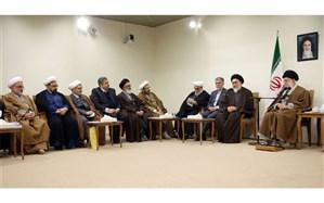 رهبر معظم انقلاب اسلامی از مقام علمی و عملی مرحوم آیتالله محقق داماد تجلیل کردند