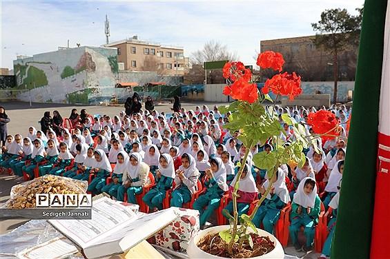 جشن میلاد حضرت زینب (س) در مدارس آباده