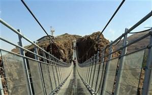 تخصیص اعتبار ویژه برای ساماندهی راه دسترسی به  پل معلق تمام شیشه ای  هیر