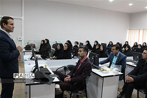 دوره آموزش خبرنگاری پانا در ناحیه یک یزد