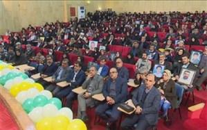 اولین همایش ایثار ماندگار در یزد برگزارشد