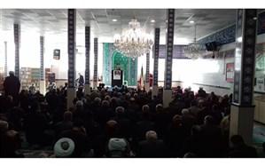 امام جمعه فیروزکوه :امروز نقطه عطفی برای نابودی آمریکا، اسرائیل  و همه تروریستهای عالم است