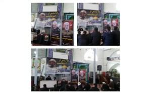 برگزاری مراسم بزرگداشت سردار سپهبد شهید حاج قاسم سلیمانی در فیروزه