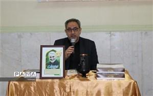 مراسم بزرگداشت نام سپهبدشهید سلیمانی در منطقه7