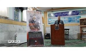 مراسم تجلیل از مقام شهید سپهبد سلیمانی در منطقه19