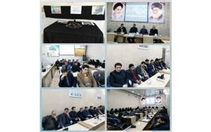 فرهنگیان و دانش آموزان گناباد با یاد سردار شهید حاج قاسم سلیمانی گریستند