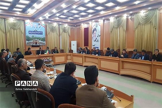 جلسه ستاد خدمات سفر درشهرستان دشتستان
