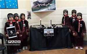 بزرگداشت یاد سپهبد شهیدسلیمانی درآموزشگاه های منطقه 19