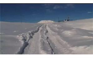 تداوم تندباد شدید و کولاک  و برف در جادههای اردبیل