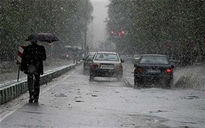 بارش برف و باران در محورهای ۸ استان