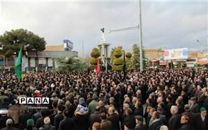 اجتماع عظیم یاران صاحب الزمانی  عزادار سردارسلیمانی در کاشمر