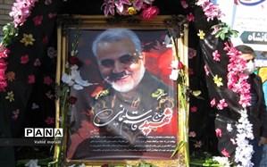 برگزاری مراسم گرامیداشت سردارشهید سپهبد حاج قاسم سلیمانی در شیراز